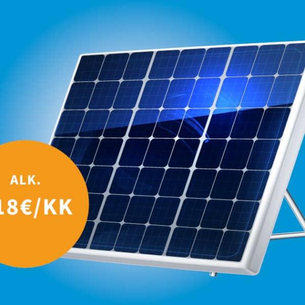 Aurinkopaneelit alk. 118€/kk